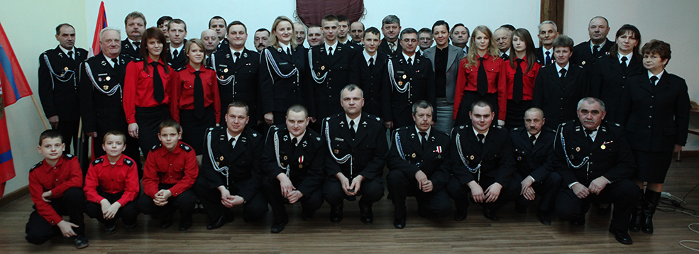 Członkowie OSP Wola Batorska
