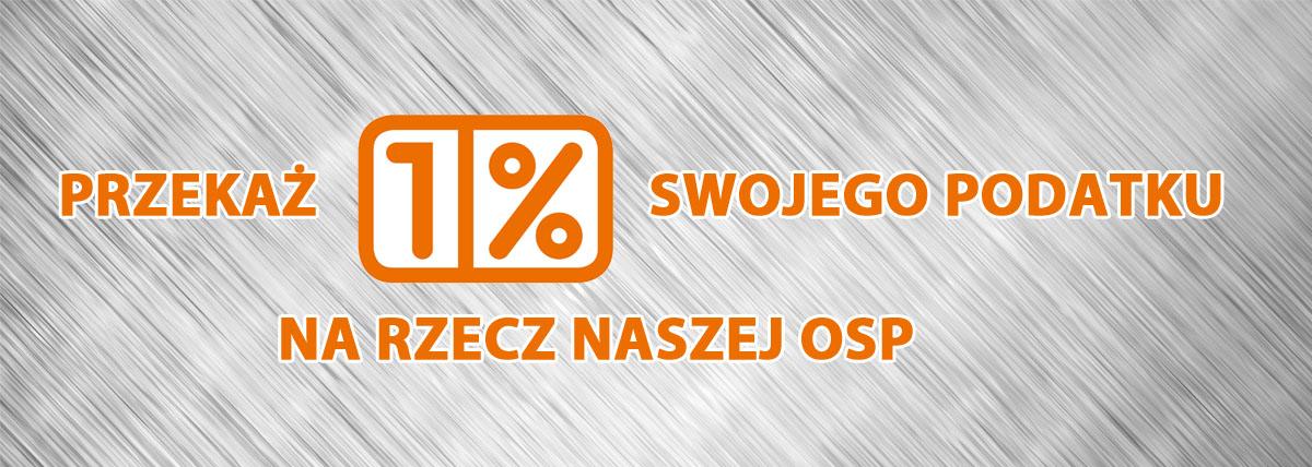 Przekaż 1% Swojego Podatku na OSP Wola Batorska